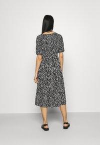 Even&Odd - Day dress - black_white - 2