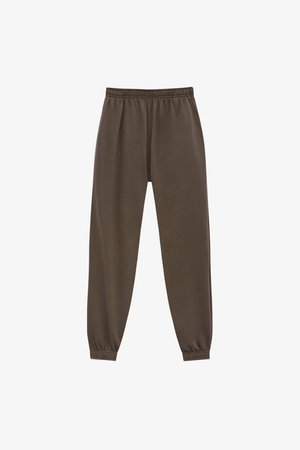 BASIC-JOGGER - Tracksuit bottoms - brown