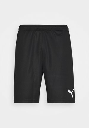 TEAMRISE TRAINING SHORTS - Sports shorts - black/white