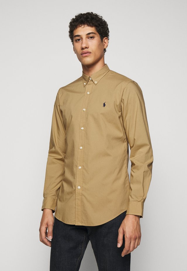 NATURAL - Camicia - surrey tan