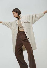 PULL&BEAR - Classic coat - beige - 5