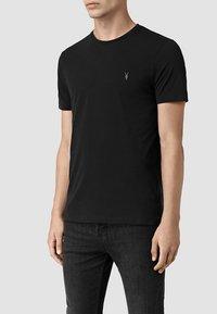 AllSaints - BRACE - Basic T-shirt - jet black - 1