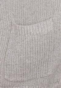 Hollister Co. - LONG LENGTH SHAKER - Cardigan - light grey - 2