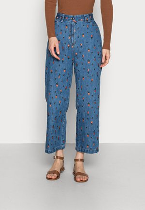 ZEA - Relaxed fit jeans - wild cherry