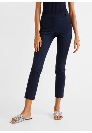 COLA - Trousers - dunkles marineblau