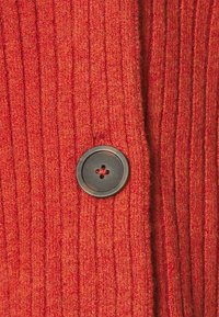 Madewell - SECRET SANTA V NECK CARDIGAN - Cardigan - heather brick - 2