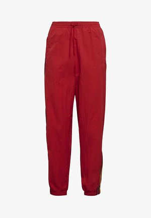 PAOLINA RUSSO ADICOLOR SPORTS INSPIRED MID RISE PANTS - Pantalon de survêtement - scarlet
