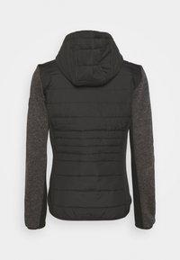 Regatta - PEMBLE HYBRID - Fleece jacket - black - 1