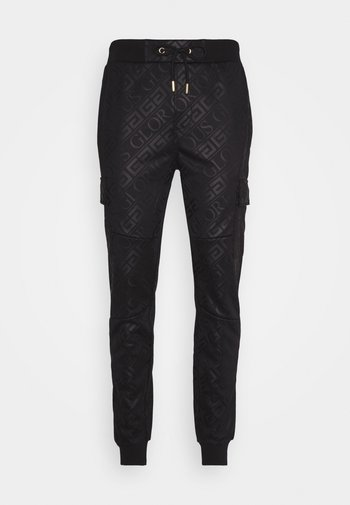 LINDEN - Pantaloni sportivi - black