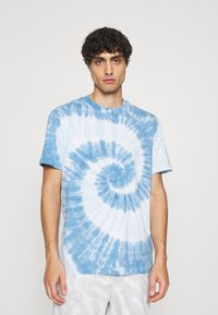 GAP - TIE DYE - Print T-shirt - deep sailor blue - 0