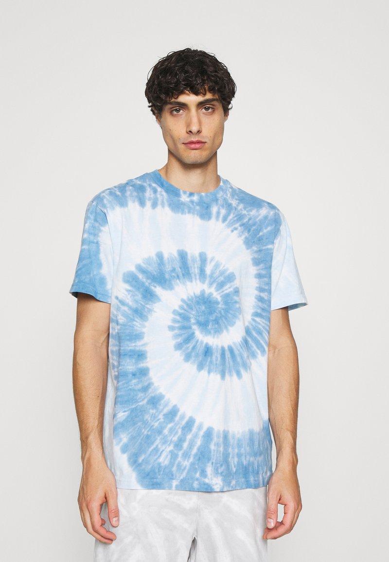 GAP - TIE DYE - Print T-shirt - deep sailor blue