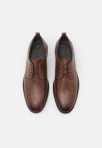 Zign - LEATHER - Stringate eleganti - brown - 3
