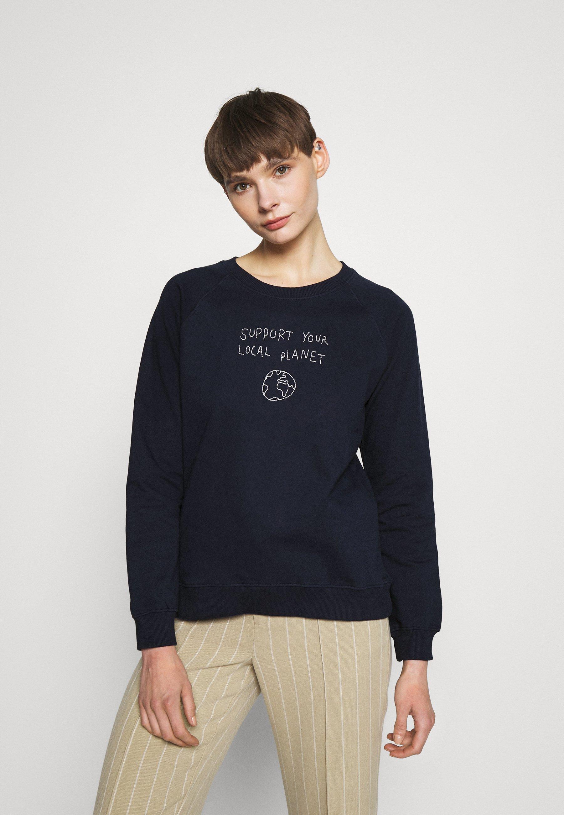 Women YSTAD RAGLAN LOCAL PLANET  - Sweatshirt