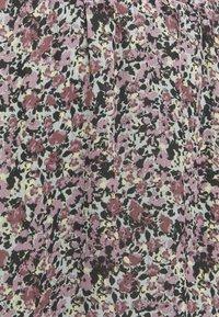 Moss Copenhagen - ENNIS RIKKLIE SKIRT - Mini skirt - aqua gray - 2
