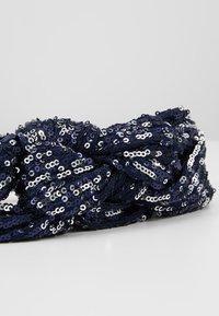 Becksöndergaard - SEQUINS HAIRBAND - Hair Styling Accessory - blue - 4