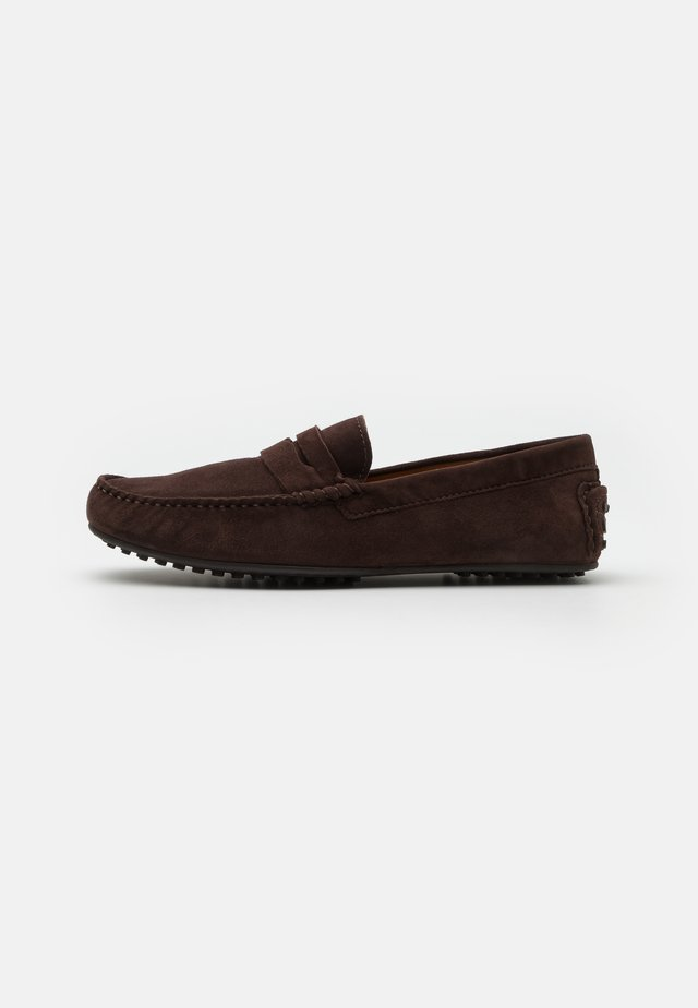 RICHMOND DRIVER - Moccasins - brown