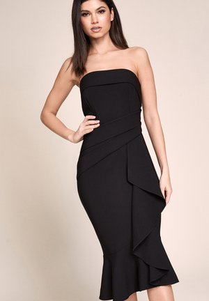 RUFFLE  - Cocktail dress / Party dress - black
