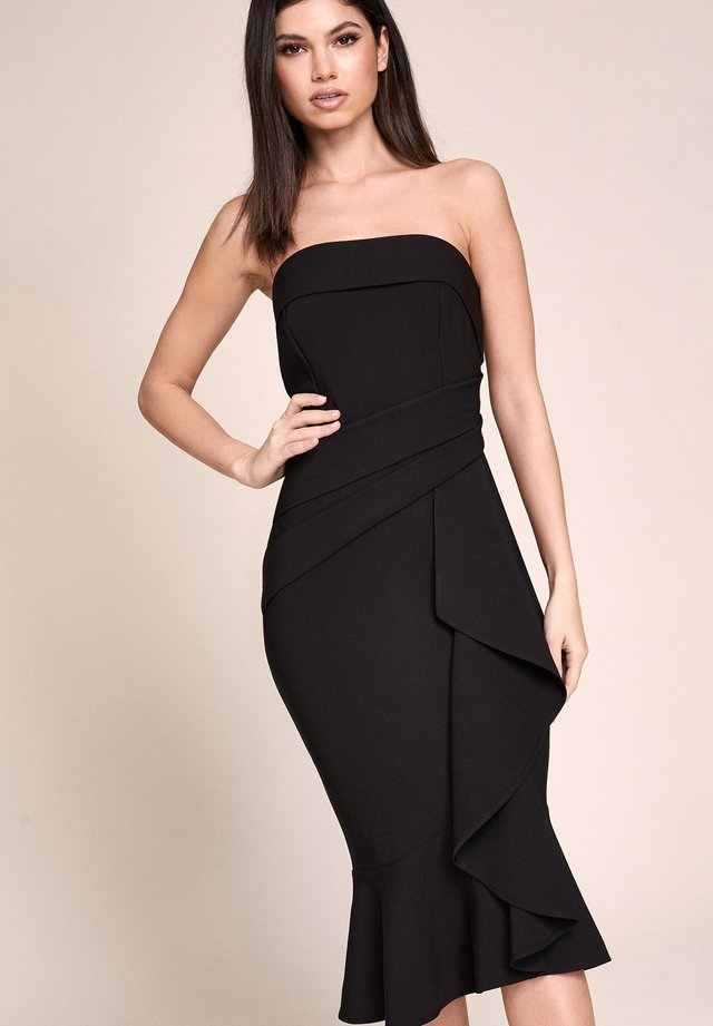 RUFFLE  - Cocktailjurk - black