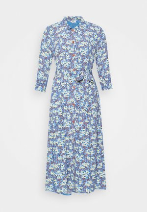 FLORAL MOSS - Robe chemise - blue