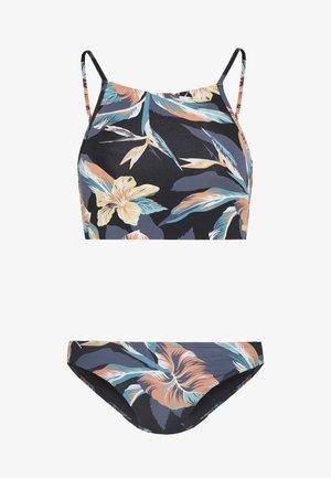 SET - Bikini - anthracite tropicoco