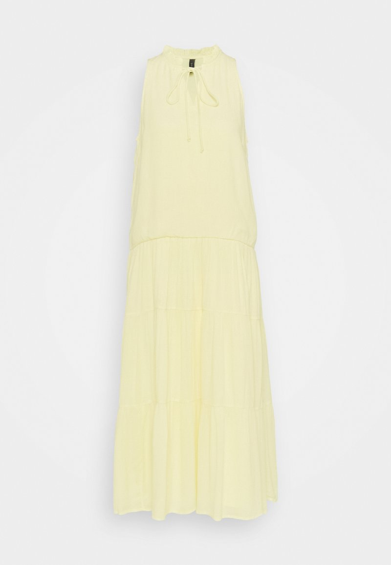 YAS Tall - YASVELO MIDI DRESS TALL - Day dress - pale banana