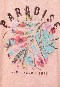 Cecil - Print T-shirt - rosa - 4
