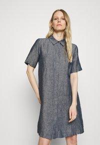 Opus - WELIKA - Shirt dress - mystic blue - 0