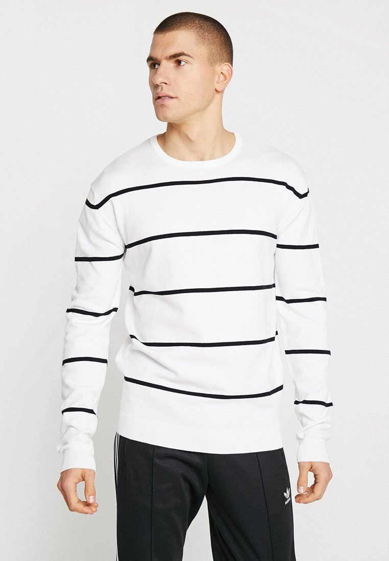 Homme LINE STRIPED - Pullover
