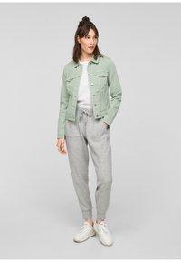 Q/S designed by - Denim jacket - mint - 1