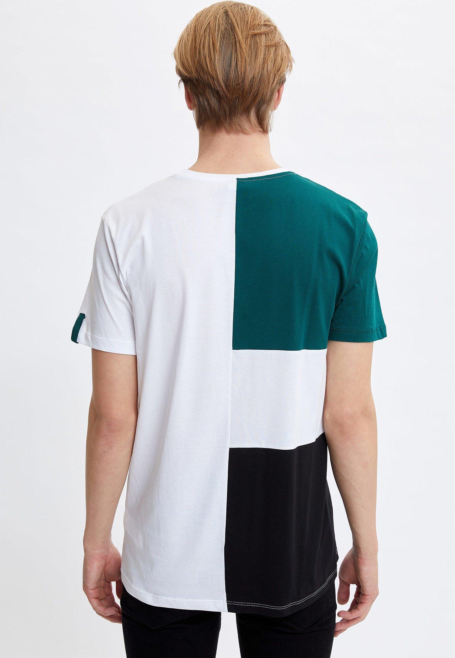 DeFacto Print T-shirt - green 97vXC