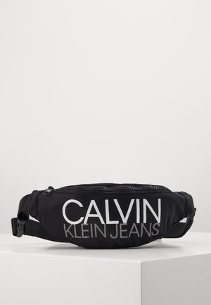 INSTITUTIONAL LOGO WAIST PACK - Ledvinka - black