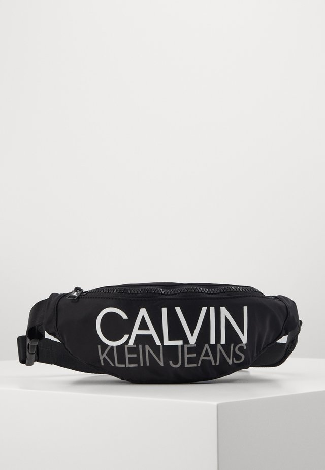 INSTITUTIONAL LOGO WAIST PACK - Riñonera - black