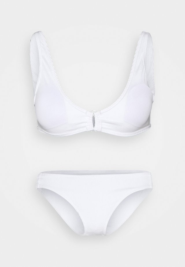 MIND OF FREEDOM BRA SET - Bikini - bright white