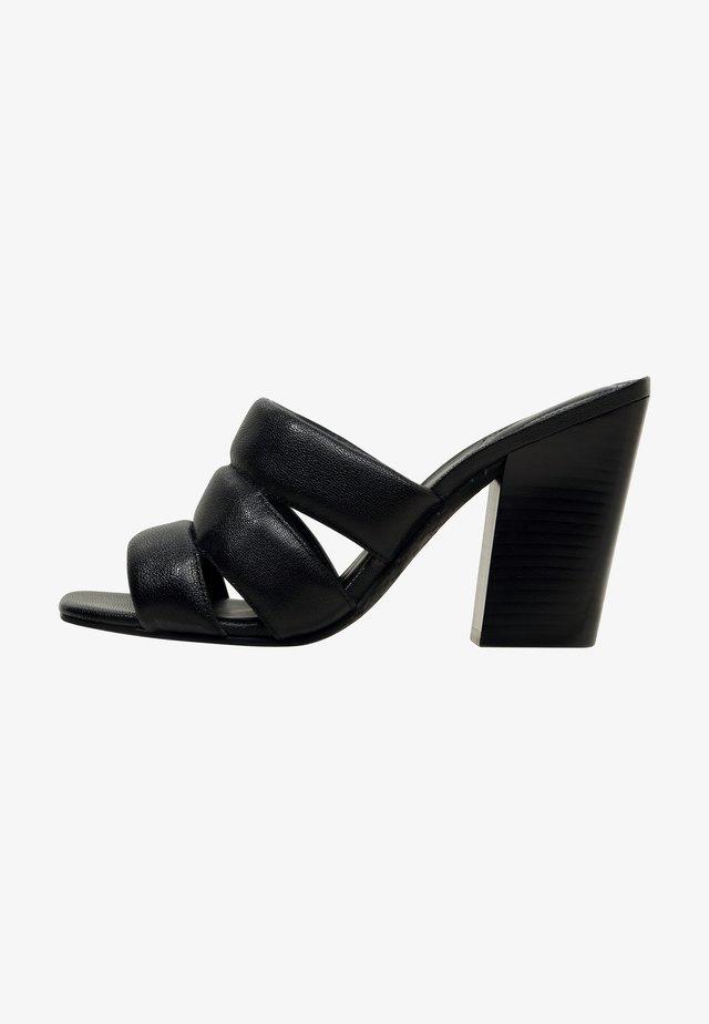 KAGA - Sandalen met hoge hak - black