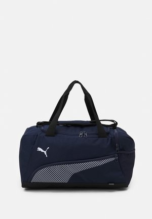 FUNDAMENTALS SPORTS BAG S UNISEX - Sportstasker - peacoat/white
