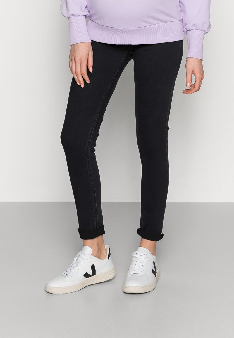 Anna Field MAMA - Jeggings - grey denim