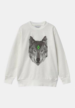 WOLF - Sweatshirt - bianco