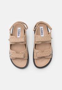 ASRA - SOJO - Sandals - almond - 4