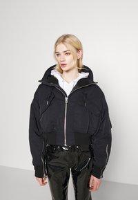 Weekday - REEVES JACKET - Light jacket - black solid - 6