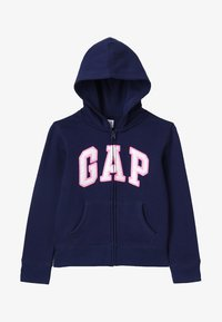 GAP - GIRLS ACTIVE LOGO - Mikina na zip - elysian blue - 3
