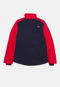 Kjus - BOYS DOWNFORCE JACKET - Ski jacket - atlanta/scarlet - 2