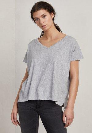 SIMONE - T-shirt basic - grey melange