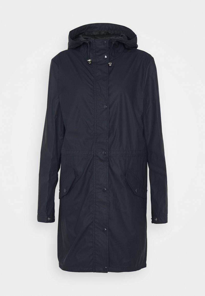 Vero Moda Tall - VMFRIDAYMUSIC COATED JACKET - Waterproof jacket - night sky