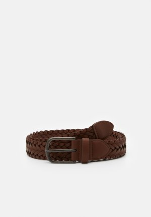 WEAVE BELT - Braided belt - brown