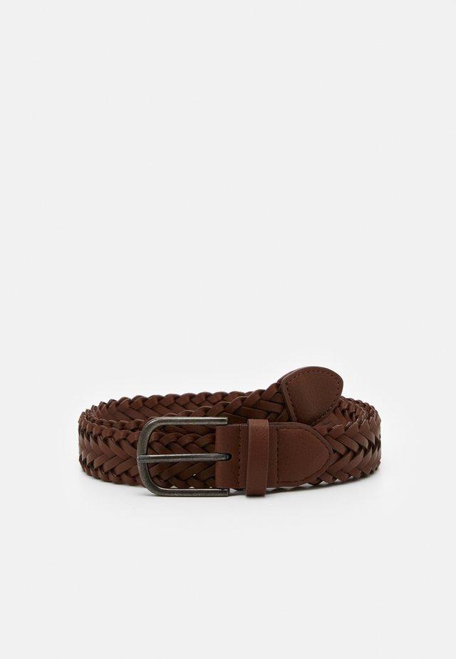 WEAVE BELT - Pletený pásek - brown