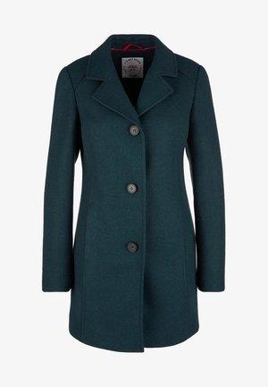 Short coat - twilight teal melange