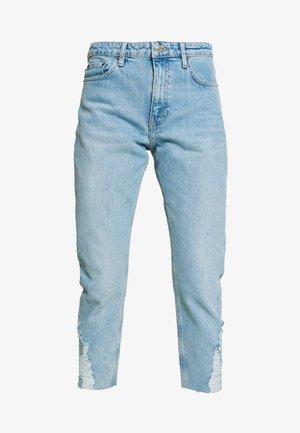 DUNDEE  - Straight leg jeans - bleach