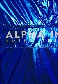 Alpha Industries - GLOSSY ANORAK - Summer jacket - nasa blue - 2