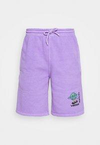Vintage Supply - OVERDYE BRANDED - Shorts - lilac - 5