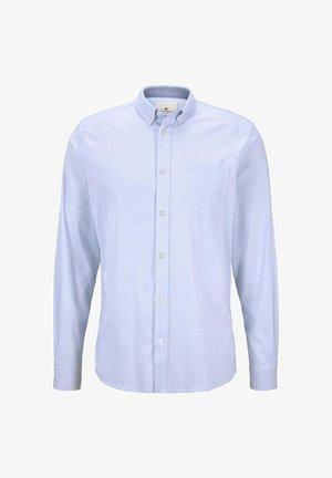 BLUSEN & SHIRTS GEMUSTERTES HEMD MIT BRUSTTASCHE - Camicia - blue
